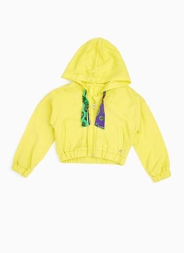 Tyess Tyess B&G Sarı Kız Çocuk Eşofman Üstü Sarı